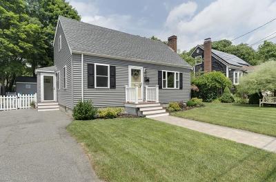 Boston Single Family Home New: 24 Brush Hill Terr
