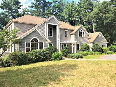 Natick Single Family Home Under Agreement: 25 Indian Rock Rd