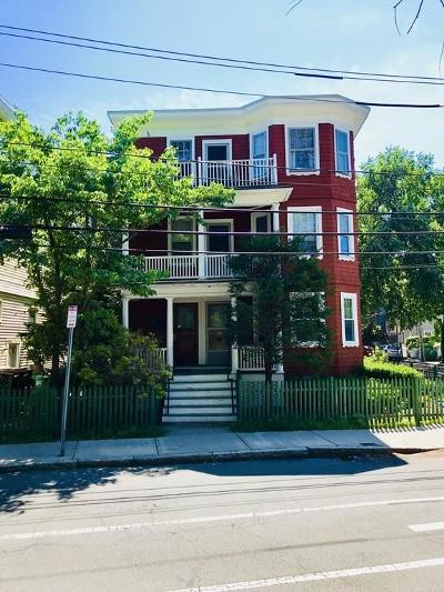 Cambridge Multi Family Home Under Agreement: 32 Sparks St