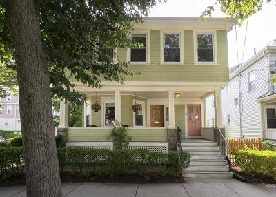 Somerville Condo/Townhouse For Sale: 17 Packard Avenue #1