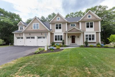 Wellesley MA Single Family Home For Sale: $2,855,000
