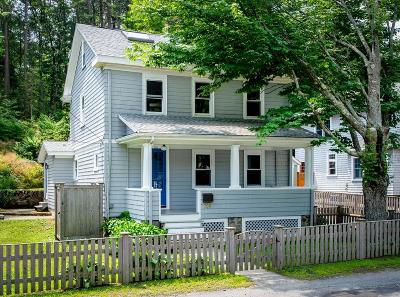 Manchester, Essex Single Family Home Under Agreement: 110 Pleasant Street