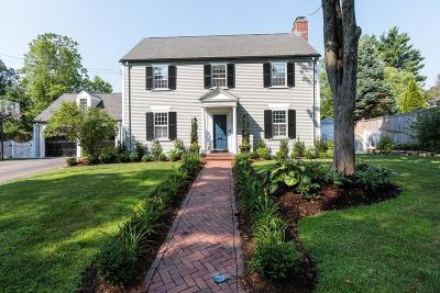 Wellesley MA Single Family Home Under Agreement: $1,795,000