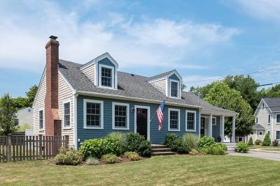 Hingham Single Family Home New: 4 Palmers Lane