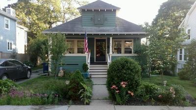Boston Single Family Home Under Agreement: 207 Dana Ave