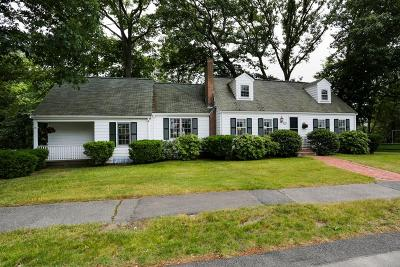 Needham Single Family Home Under Agreement: 116 Arch Street