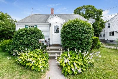 Quincy MA Single Family Home Under Agreement: $299,000