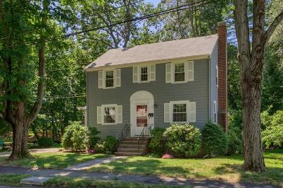 Reading Single Family Home Under Agreement: 24 Cape Cod Ave