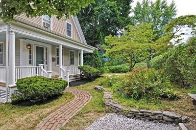 Milton Single Family Home Under Agreement: 1078 Blue Hill Avenue