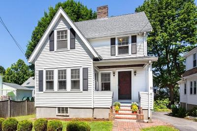 Arlington MA Single Family Home New: $749,000