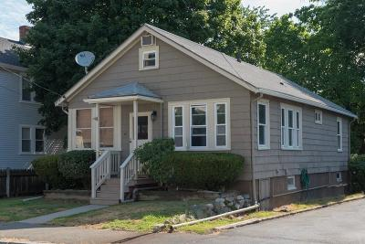Quincy Single Family Home For Sale: 42 Grossman St