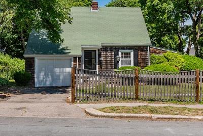 Braintree Single Family Home Under Agreement: 37 Weston Avenue