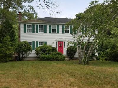 Holliston Single Family Home Under Agreement: 95 Dalton Road