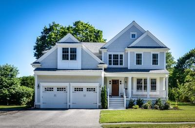 Wellesley MA Single Family Home Under Agreement: $1,995,000