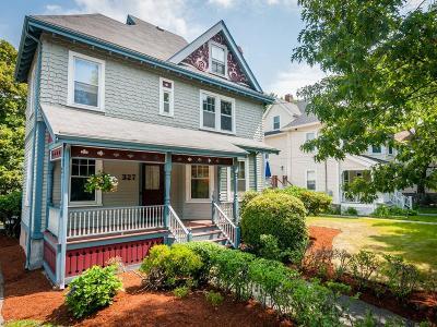 Newton Single Family Home New: 327 Tremont Street