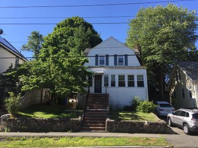 Melrose Single Family Home For Sale: 62 Lebanon St.