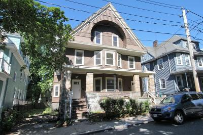 MA-Suffolk County Multi Family Home Under Agreement: 45-45a Spencer St