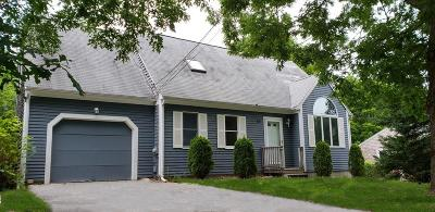 Falmouth Single Family Home Under Agreement: 39 Antlers Shore Dr
