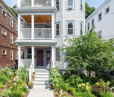 Cambridge Condo/Townhouse Price Changed: 21 Dudley Street #2