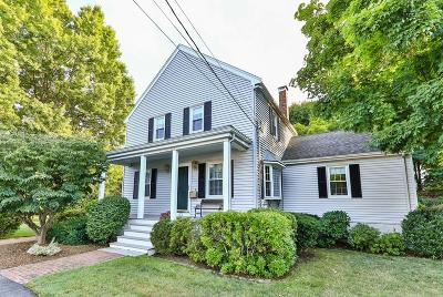 Dedham Single Family Home Under Agreement: 65 Durham Rd