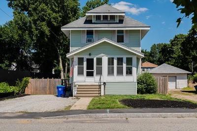 Rockland, Abington, Whitman, Brockton, Hanson, Halifax, East Bridgewater, West Bridgewater, Bridgewater, Middleboro Single Family Home New: 77 Taunton Avenue