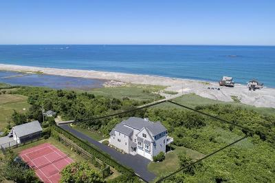 Scituate Single Family Home Back On Market: 124 Mann Hill Rd