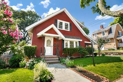 Braintree Single Family Home Under Agreement: 33 Ardmore St