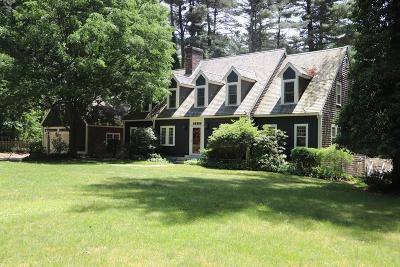 Norwell MA Single Family Home For Sale: $675,000
