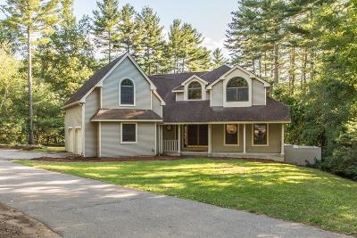 West Brookfield Single Family Home For Sale: 96 Wickaboag Valley Rd