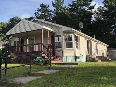 Middleboro Single Family Home Under Agreement: 52 Lyn Lane