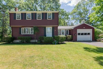 Braintree Single Family Home For Sale: 39 Connelly Cir
