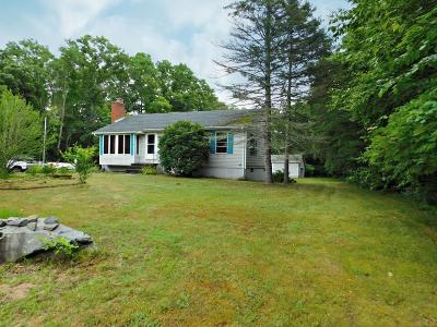 Norton MA Single Family Home Under Agreement: $269,900