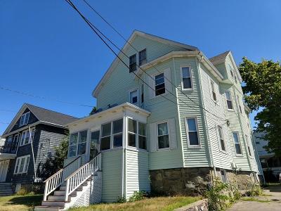 Multi Family Home For Sale: 15 Elgin