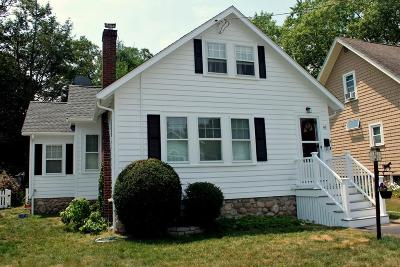 MA-Norfolk County Single Family Home For Sale: 62 Lakewood Rd.