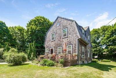 Cohasset Single Family Home Contingent: 41 Spring St