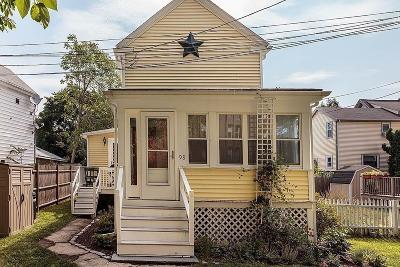 Melrose Single Family Home Under Agreement: 98 Grove St
