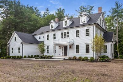 Westwood Single Family Home For Sale: 36 Woodridge Rd