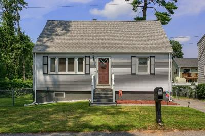 Billerica Single Family Home Under Agreement: 17 Pinegrove Ave