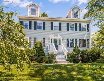 Billerica Single Family Home Under Agreement: 9 Rhodes Street