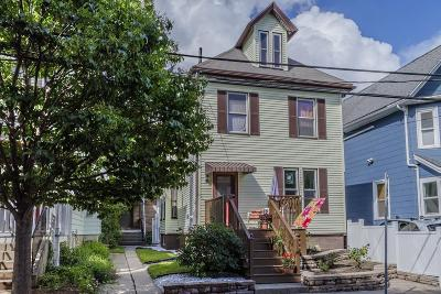 Somerville Single Family Home Under Agreement: 21 Cambria Street