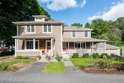 Maynard Single Family Home Under Agreement: 53 Thompson St