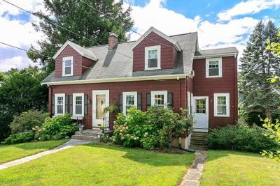 Needham Single Family Home Under Agreement: 57 Emerson Rd