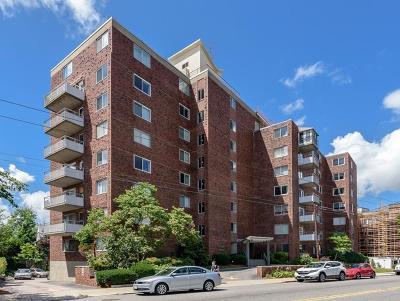 Cambridge Condo/Townhouse Under Agreement: 14 Concord Avenue #507
