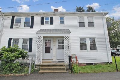 Quincy Single Family Home For Sale: 3 Keyes St