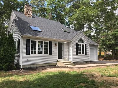 Mashpee Single Family Home Price Changed: 214 Hooppole Rd