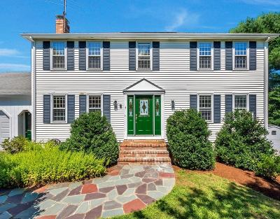 Southborough Single Family Home Contingent: 4 Peggy Dr
