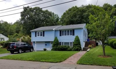 Saugus Single Family Home Under Agreement: 39 Sterling Ave