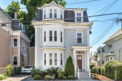 Somerville Condo/Townhouse Under Agreement: 80 Newton St #3
