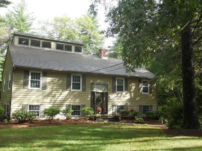 Hudson Single Family Home Under Agreement: 186 White Pond Rd