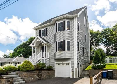Waltham Single Family Home Price Changed: 82 Amherst Avenue